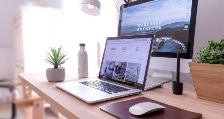 Exanet two screens desk blog